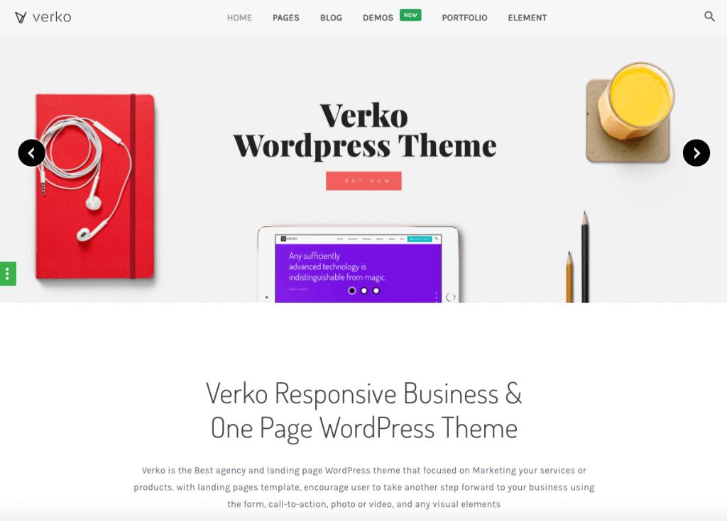 Verko themes
