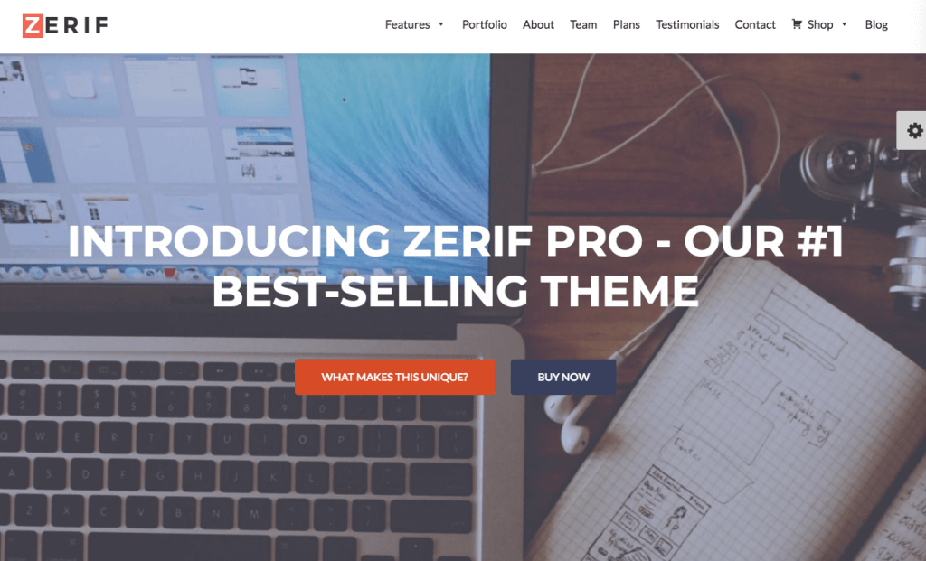 Zerif Pro themes