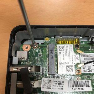 remove firmware screw