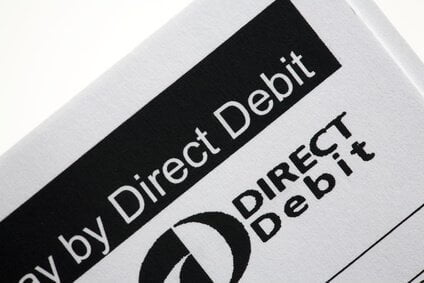 Direct Debit payment now available