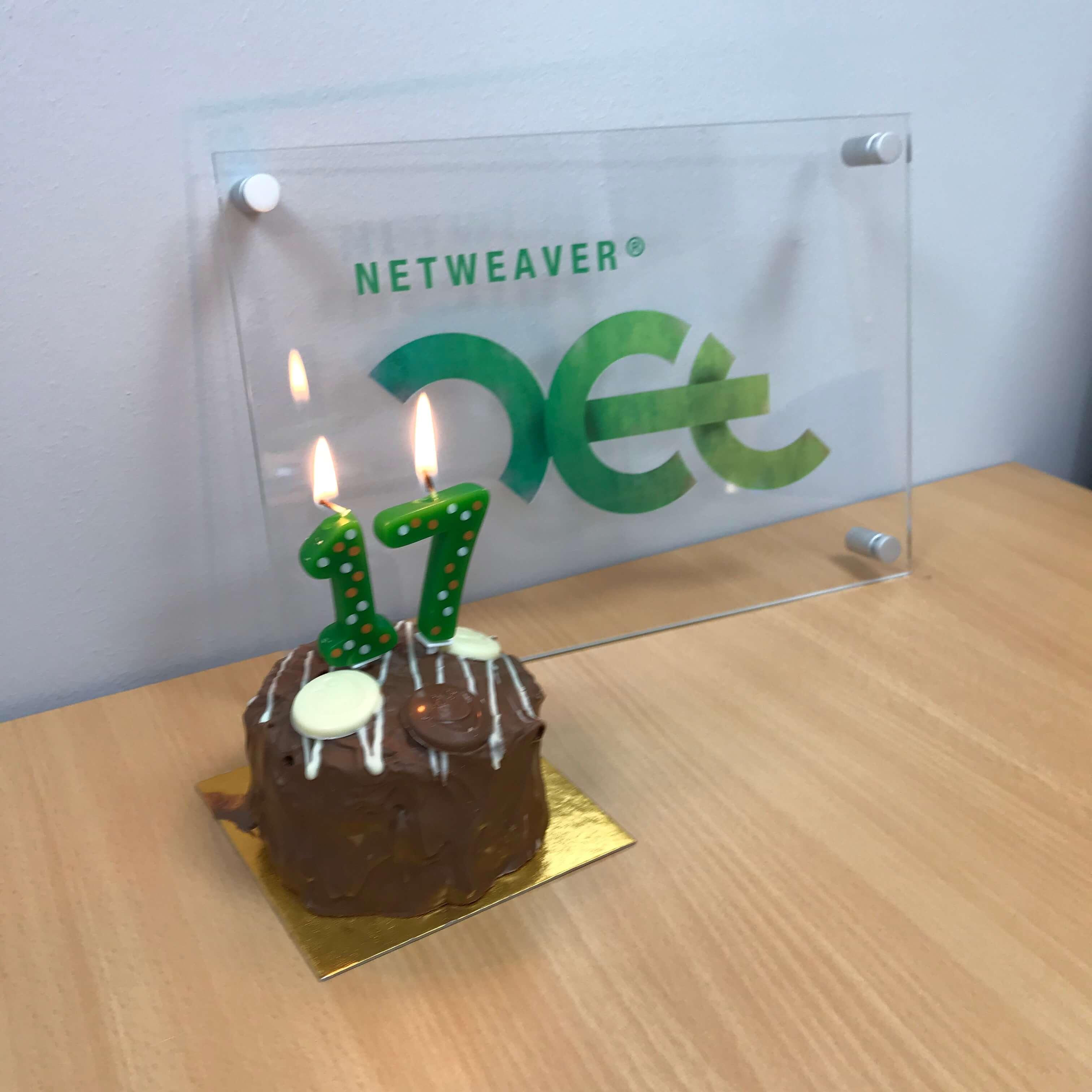 Happy Birthday to NetWeaver – 17 years old